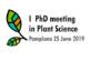 AGENDA: 25 de junio, en Baluarte, 1st PhD Meeting in Plant Science