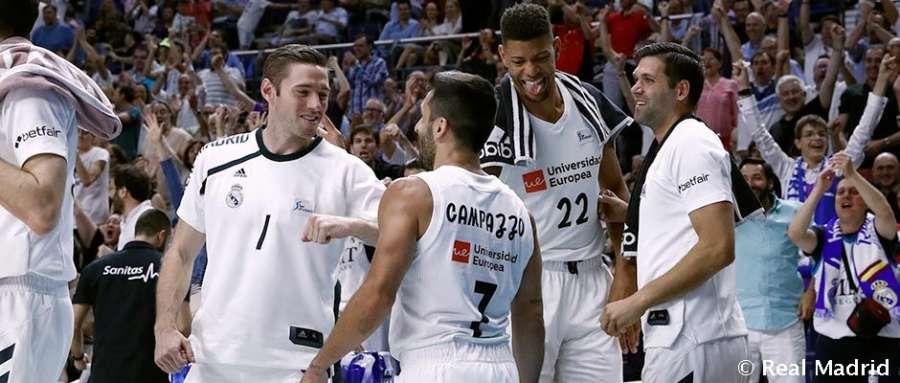 78-85. El Real Madrid, por la vía rápida a su octava final consecutiva de la ACB