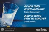 """El Gobierno de Navarra relanza la campaña """"Beber lo normal puede ser demasiado"""""""