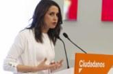 Arrimadas (C's): Éste es el «preludio» de un Gobierno nacionalista en Navarra