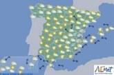 Hoy en España, ascenso de temperaturas en general, excepto en el extremo sureste
