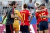 1-2. España se deja el corazón, pero le abaten dos penaltis muy dudosos