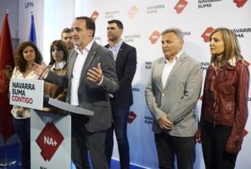 NA+ presentará una ley para derogar el decreto del euskera en la Administración