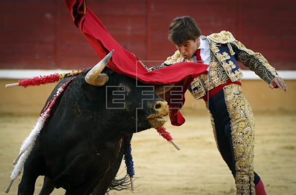 Javier Marín, motivado y entregado con su inclusión en la feria de San Fermín