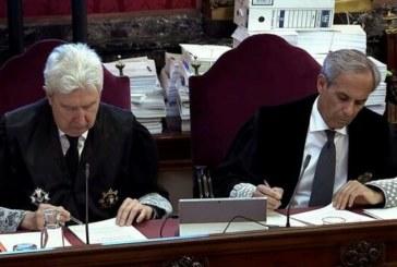 Fase final del juicio al proceso separatista: Fiscalía insiste en rebelión y Abogacía, en sedición