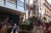 Pamplona se suma a la procesión del Corpus Cristi con el alcalde Enrique Maya