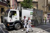 La MCP pone en marcha el servicio especial de residuos para sanfermines