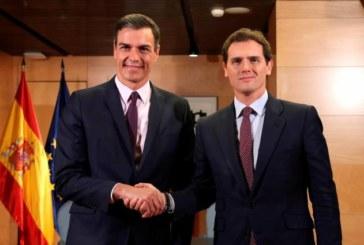 Rivera: Ahora le toca a Sánchez formar gobierno «con sus socios habituales»