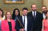 """Toquero (NA+), nuevo alcalde de Tudela, """"desea un nuevo impulso, mantener sus tradiciones y su cultura»"""