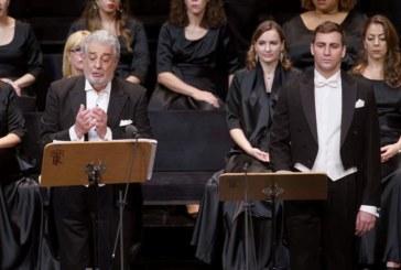 El Real se rinde de nuevo a Plácido Domingo, debutante en «Giovanna d'Arco»