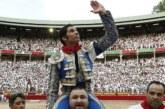 Cayetano, triunfador en solitario de un San Fermín de bajo nivel artístico