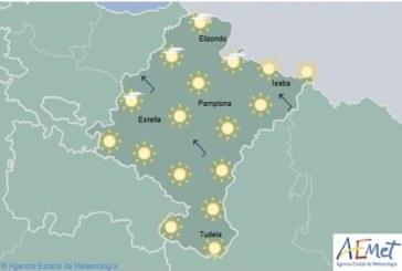 Los termómetros subirán hasta 39 grados en Navarra