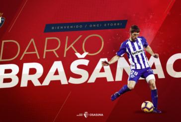 El centrocampista serbio Darko Brasanac, nuevo jugador de Osasuna hasta 2022