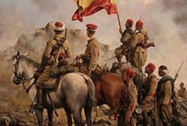 El ejército español derrotado por tropas marroquíes