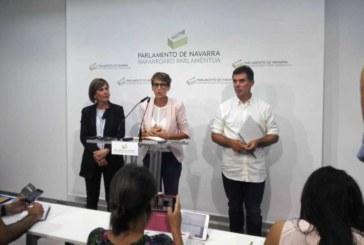 PSN, Geroa Bai, Podemos cierran un acuerdo de gobierno con 13 consejerías a la espera de Bildu