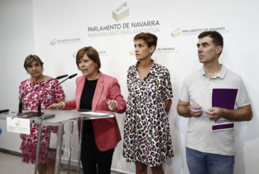 Barkos: «Geroa Bai no es intermediario de PSN y Bildu»