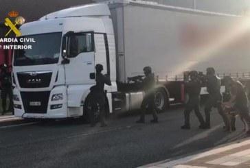 El yihadista detenido será trasladado a la Audiencia Nacional cuando acabe el registro