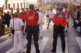 Policía Foral, Policía Nacional y Policía Municipal realizan un dispositivo especial para las fiestas de Santa Ana en Tudela