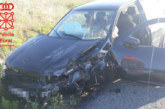 Tres vehículos implicados en un accidente en la Autovía del Camino