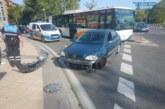 Dos peatones heridos en sendos atropellos en Pamplona