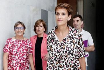 PSN, Geroa Bai, Podemos e I-E retoman el martes las negociaciones de Gobierno