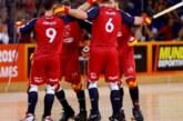 Oro y bronce, botín del hockey patines español en los WRG de Barcelona
