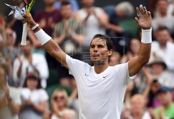 Nadal gana a Querrey y jugará contra Federer en Wimbledon 11 años después