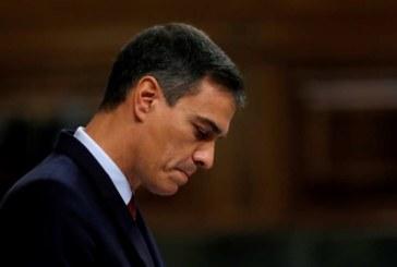 Sánchez fracasa en la primera votación de la investidura con 170 «noes»
