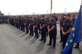 Arasti recibe a los nuevos policías nacionales en Navarra