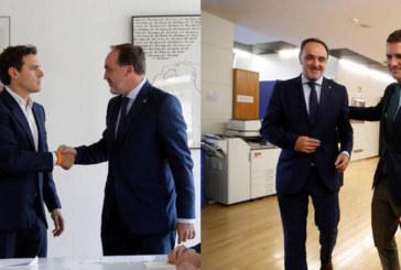PP y Cs acuerdan por separado con UPN romper con el PSOE si pacta con Bildu
