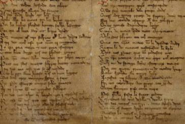 La Biblioteca Nacional muestra el manuscrito del Cantar de Roncesvalles