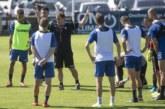 Suave sesión de entrenamiento en Tajonar tras el empate con el Betis