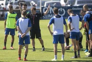 Osasuna intensifica el trabajo con balón antes de su visita al Valladolid