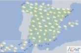 El tiempo para hoy jueves en España