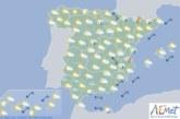 El tiempo hoy viernes en España