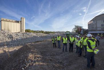 Las obras de derribo de Argal y Tallunce finalizarán a principios de octubre