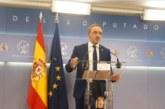 Esparza dice que la repetición electoral es un «fracaso» de Sánchez