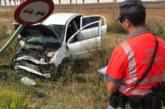 Tres heridos en un accidente en el término municipal de Corella (Navarra)