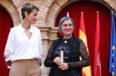 La activista Stasa Zajovic, reconocida en Tudela por su compromiso a favor de la paz
