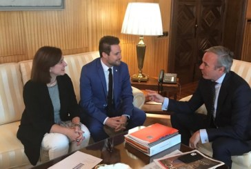 Alcaldes de Tudela y Zaragoza se reúnen para estrechar lazos y colaborar