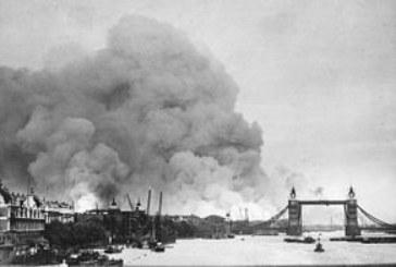 Bombardeo masivo de Londres