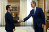 Casado expone al Rey su postura ante la investidura de Sánchez
