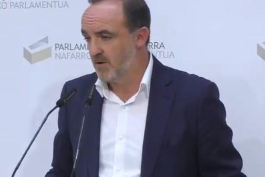 Esparza (NA+) pide a Sánchez que «rectifique» el preacuerdo PSOE-Podemos porque «todavía está a tiempo»