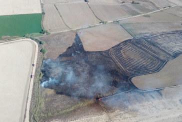 Los bomberos apagan dos pequeños incendios en Falces y San Adrián