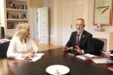 Gobierno tripartito de Chivite y «Eusko Ikaskuntza» exploran nuevas líneas de colaboración