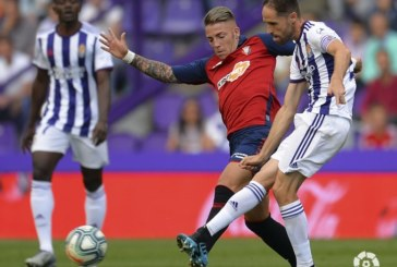 1-1. Valladolid y Osasuna firman tablas