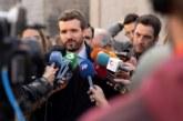 Casado sólo apoyará a Sánchez en Cataluña si rompe con los independentistas