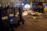 Graves disturbios tras la manifestación contra la sentencia del proceso separatista