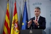 Proceso separatista: Marlaska niega que estén «desbordados» pese a afrontar una situación «grave»