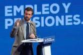 Casado dice que Sánchez «ha fracasado» en Cataluña y se erige en alternativa